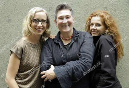 "Laura Veirs, k.d. lang, Neko Case Singer-songwriters, from left, Laura Veirs, k.d. lang and Neko Case pose for a photo in Portland, Ore., . The three singer-songwriters released a new album, ""case/lang/veirs,"" on Friday"