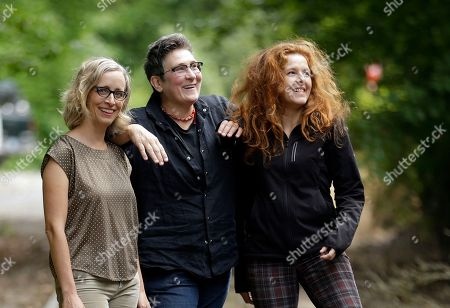 Stock Photo of Laura Veirs, k.d. lang, Neko Case Singer-songwriters, from left, Laura Veirs, k.d. lang and Neko Case pose for a photo in Portland, Ore