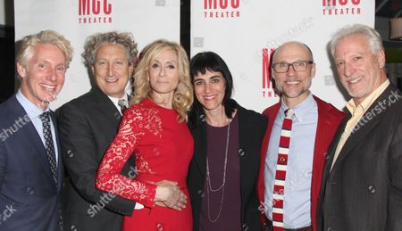 Blake West, Bernard Telsey, Judith Light, Director Leigh Silverman, William Cantler, Robert LuPone