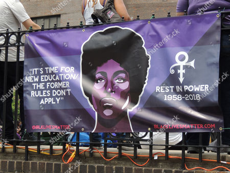 Editorial photo of Prince Party, New York, USA