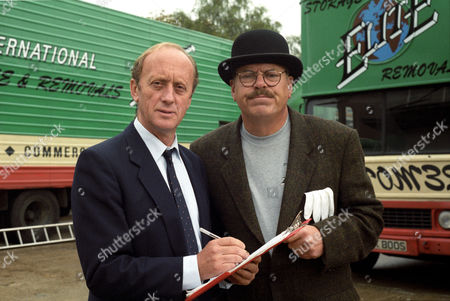 'Moving Story' TV series - Kenneth Colley and Warren Clarke - 1994