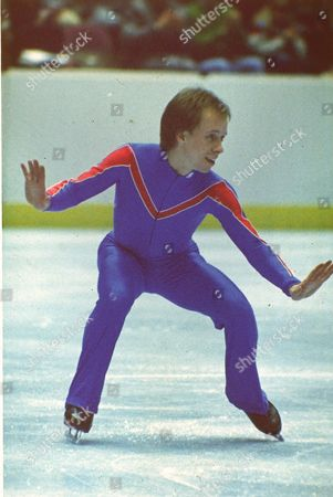 HAMILTON This is an undated photo of figure skater Scott Hamilton in action
