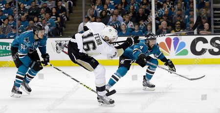 Editorial image of Stanley Cup Hockey, San Jose, USA