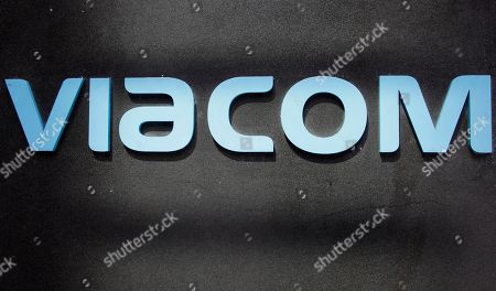 The Viacom logo at Viacom headquarters in New York. Viacom forecast poor results in the quarter ending in June, but investors were undeterred following moves that pushed CEO Philippe Dauman closer to the exit. Shares were up 12 cents at $45.17 in trade on