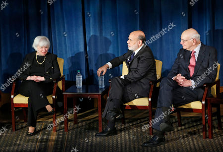 Editorial image of 4 Fed Leaders, New York, USA