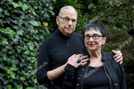 Aaron Levine, Barbara Levine Aaron Levine and his wife Barbara Levine pose for a portrait at their home in Washington. The couple were among the people injured in the deadly Philadelphia derailment last year. Investigators are meeting Tuesday, May 17 to determine the likely cause
