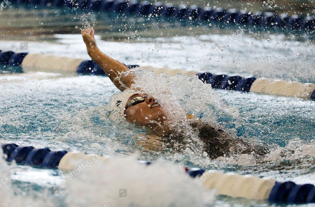 Natalie Coughlin Natalie Coughlin competes in the 100-meter backstroke at the Atlanta Classic swim meet, in Atlanta