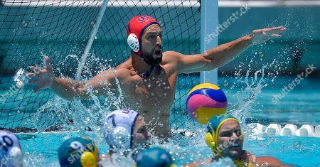 Editorial image of Australia USA Water Polo, Los Angeles, USA