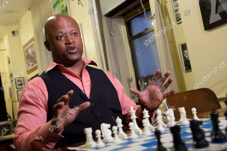Maurice Ashley Chess grandmaster Maurice Ashley talks during an interview at Chess Forum in New York. The Brooklyn resident has been inducted to the World Chess Hall of Fame in St. Louis