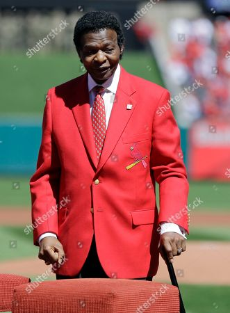 Lou Brock Former St. Louis Cardinals great Lou Brock is introduced before the start a baseball game between the St. Louis Cardinals and the Milwaukee Brewers, in St. Louis. Brock, the former base stealing record holder and Major League Hall of Famer, had his left leg amputated just below the knee in the offseason due to complications from diabetes