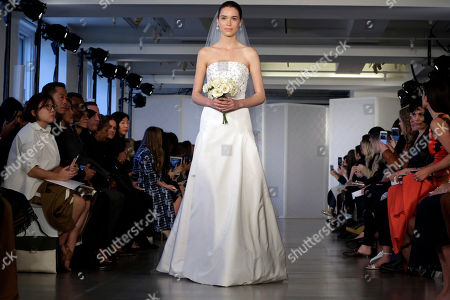 Editorial image of Bridal Fashion Oscar de la Renta, New York, USA