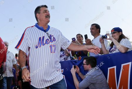 Keith Hernandez Keith Hernandez arrives before a baseball game between the Los Angeles Dodgers and the New York Mets, in New York