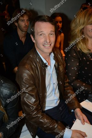 Editorial image of Guy Laroche show, Front Row, Spring Summer 2017, Paris Fashion Week, France - 28 Sep 2016