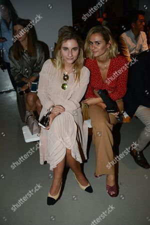Editorial picture of Guy Laroche show, Front Row, Spring Summer 2017, Paris Fashion Week, France - 28 Sep 2016