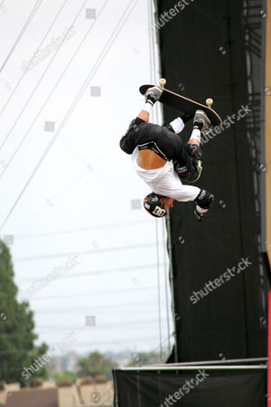 Danny Way at the Skateboard Big Air Final