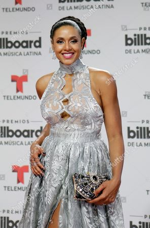 Jeimy Osorio Actress Jeimy Osorio arrives at the Latin Billboard Awards, in Coral Gables, Fla