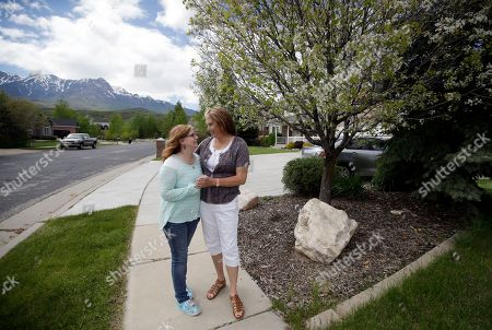 Angie Rice and Sandi Rice Angie Rice and her wife's Sandi stand in front of their home, in Mountain Green, Utah. In the year since Utah passed a Mormon church-backed anti-discrimination law protecting gay and transgender people, 22 complaints were filed alleging discrimination in the workplace or in housing. Utah public school teacher Rice, a transgender woman who says the law's protections gave her the courage to come out to administrators and students