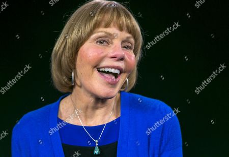 """Stock Photo of Toni Tennille Toni Tennille, best known as one-half of the 1970s duo Captain & Tennille, poses for a photo in Los Angeles on . Tennille has written a memoir, """"Toni Tennille,"""" which details her relationship with husband Daryl Dragon"""