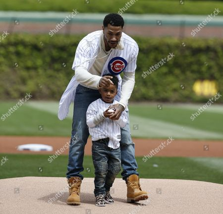 Editorial image of Pirates Cubs Baseball, Chicago, USA