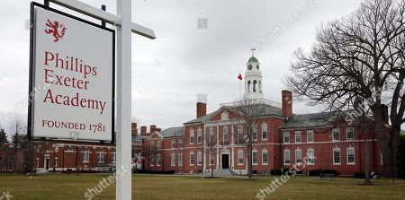 """FILE - In this April 11, 2016 photo, part of the campus of the prestigious Phillips Exeter Academy is seen in Exeter, N.H. The principal of the elite prep school dealing with a series of sexual abuse allegations acknowledged, it represented a """"dark moment"""" but said the school will emerge from the crisis strong and healthy. Phillips Exeter Academy Principal Lisa MacFarlane spoke to The Associated Press following revelations last month about former teacher Rick Schubart. Schubart was forced to resign in 2011 after admitting sexual misconduct dating to the 1970s and was barred from campus after more misconduct surfaced in 2015"""