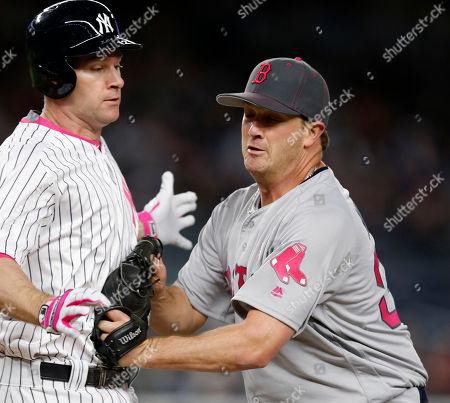 Editorial photo of Red Sox Yankees Baseball, New York, USA