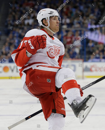 Editorial image of Red Wings Lightning Hockey, Tampa, USA