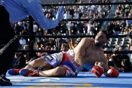 Editorial photo of Rodriguez Williams Boxing, Carson, USA