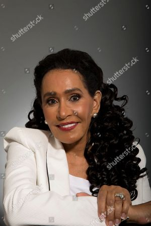 Stock Image of Frances Gladney, wife of Smokey Robinson, poses for a photo, in Los Angeles, Calif