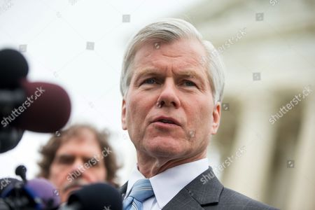 Bob McDonnell Former Virginia Gov. Bob McDonnell speaks outside the Supreme Court in Washington, after the Supreme Court heard oral arguments on the corruption case of McDonnell. The Supreme Court seems likely to overturn the conviction of McDonnell on political corruption charges and place new limits on the reach of federal bribery laws