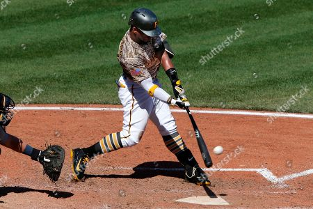 Andrew McCutchen Pittsburgh Pirates' Andrew McCutchen (22) doubles off Detroit Tigers relief pitcher Mark Lowe during the eighth inning of a baseball game in Pittsburgh