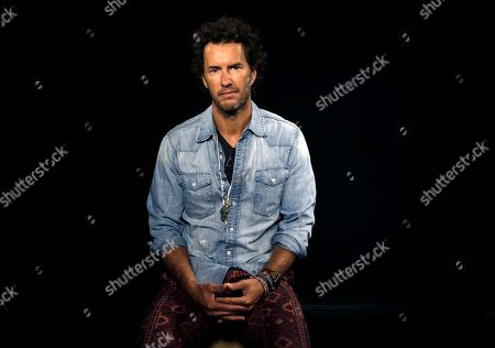 Blake Mycoskie American entrepreneur, author, philanthropist and founder of Toms Shoes, Blake Mycoskie, poses during an interview in Los Angeles on . Mycoskie, 39, reflects on 10 years of one-for-one giving and spoke about how he learned from his mistakes. To date, Toms has given away about 60 million pairs of shoes