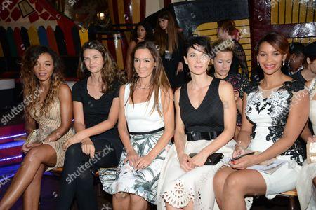 Louisy Joseph, Stephanie Pasterkamp, Emmanuelle Boidron, Laetitia Fourcade, Alicia Fall.