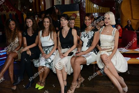Louisy Joseph, Stephanie Pasterkamp, Emmanuelle Boidron, Laetitia Fourcade, Clizia Incorvaia, Alicia Fall.