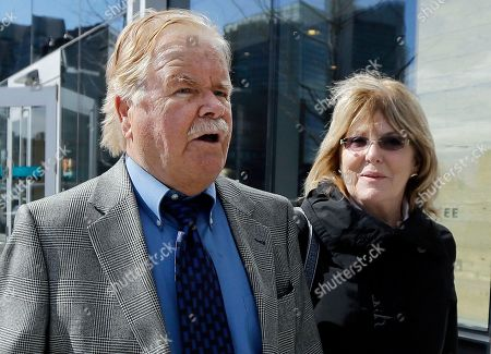"Robert Fitzpatrick Robert Fitzpatrick, of Charlestown, R.I., walks from federal court in Boston with his wife Jane. Fitzpatrick, a former FBI agent, pleaded not guilty to charges of perjury during James ""Whitey"" Bulger's trial. Lawyers for Fitzpatrick and federal prosecutors filed papers in court, asking a judge to schedule a change-of-plea hearing for May 5"