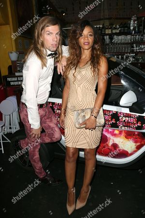 Christophe Guillarme and (Lydie) Louisy Joseph