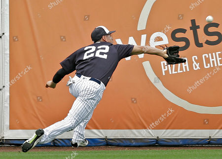 Jacoby Ellsbury New York Yankees center fielder Jacoby Ellsbury chases down and makes the catch on a fly ball by Atlanta Braves' Nick Swisher during the first inning of a spring training baseball game, in Tampa, Fla