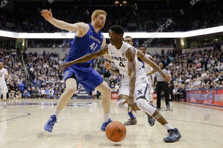 Editorial picture of Creighton Xavier Basketball, Cincinnati, USA