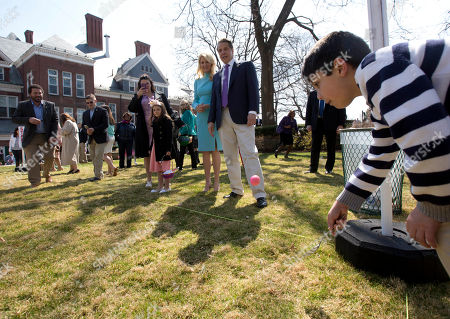 Editorial picture of Cuomo Easter Egg Hunt, Albany, USA