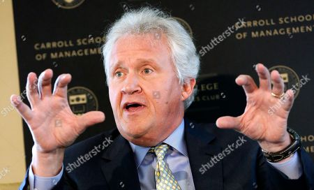 Jeffrey Immelt General Electric Chairman and CEO Jeffrey Immelt speaks at the Boston College Chief Executives Club in the Boston Harbor Hotel in Boston, . Immelt discussed his company's impending move from Fairfield, Conn., to Boston at a meeting of business executives