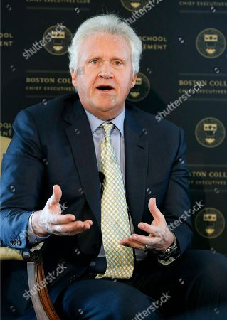 Jeffrey Immelt General Electric chairman and CEO Jeffrey Immelt speaks at the Boston College Chief Executives Club in the Boston Harbor Hotel in Boston