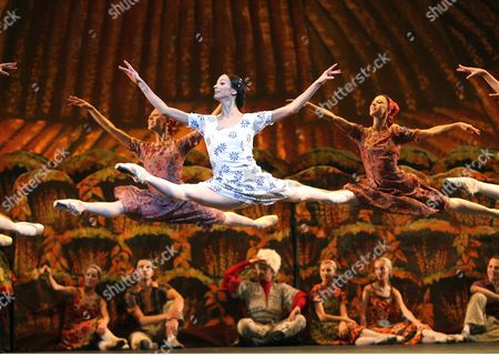 Editorial picture of 'The Bright Stream' performed by the Bolshoi Ballet at the Royal Opera House, London, Britain - Aug 2006