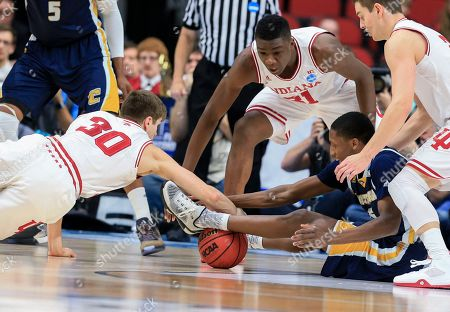 Editorial picture of NCAA Chattanooga Indiana Basketball, Des Moines, USA
