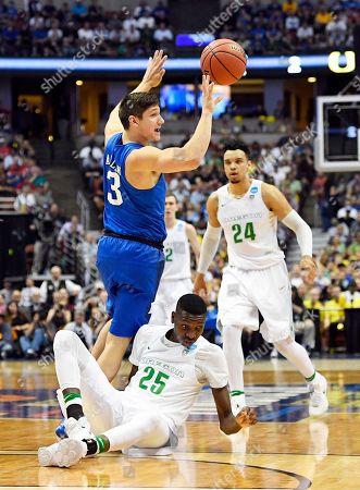 Editorial image of NCAA Duke Oregon Basketball, Anaheim, USA