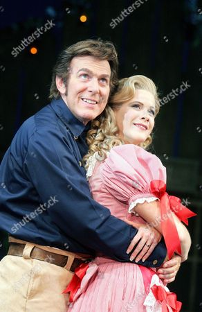 Stock Picture of 'Seven Brides for Seven Brothers' - Dave Willitts ( Adam ) and Shona Lindsay ( Milly )