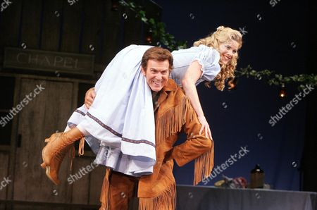 Editorial picture of 'Seven Brides for Seven Brothers' Musical at the Theatre Royal Haymarket, London, Britain - 2006