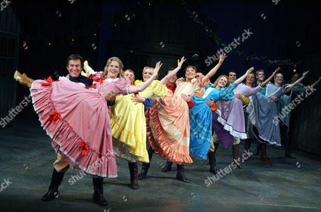 Editorial photo of 'Seven Brides for Seven Brothers' Musical at the Theatre Royal Haymarket, London, Britain - 2006