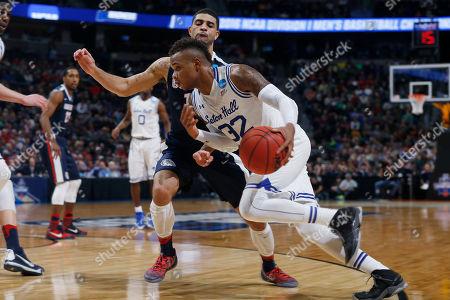 Editorial picture of NCAA Gonzaga Seton Hall Basketball, Denver, USA