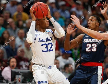 Editorial photo of NCAA Gonzaga Seton Hall Basketball, Denver, USA