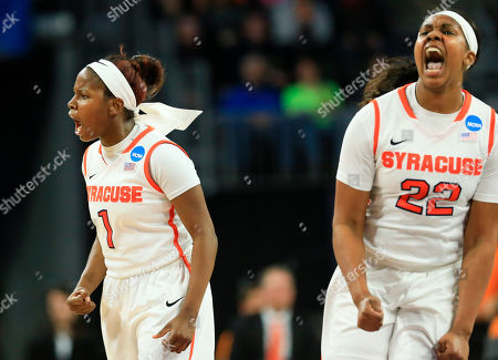 Editorial picture of NCAA Tennessee Syracuse Basketball, Sioux Falls, USA