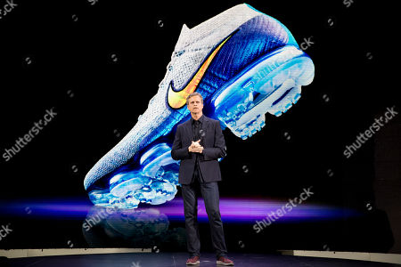Editorial picture of Nike Innovations, New York, USA